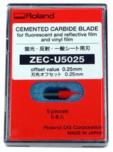 Roland 45 Degree High Quality Thick Carbide Cutter .25mm Offset (5)